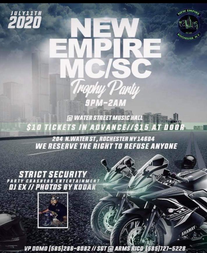 New Empire MC/SC Trophy Party