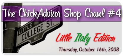 The ChickAdvisor Shop Crawl Part 4!