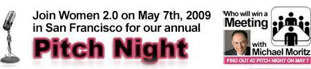 "Women 2.0 presents ""Pitch Night 2009"""