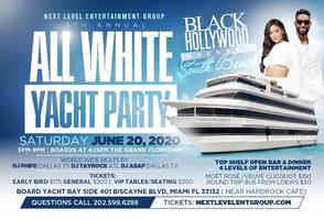 THE #1 RATED  EVENT THE EPIC ALL WHITE YACHT PARTY...