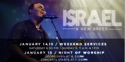 A Night of Worship with Israel Houghton