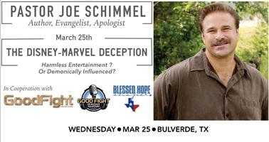 The Disney-Marvel Deception | Speaker, Pastor Joe...
