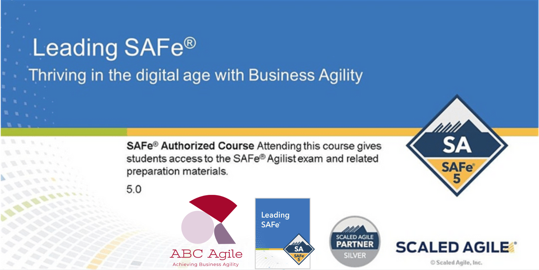 Leading SAFe 5.0 with SA Certification Boston by Savitha Katham