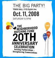 Neighborhood Matching Fund 20th Anniversary Celebration