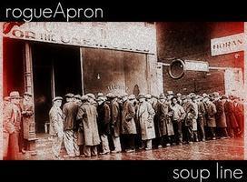 rogueApron Soup Line.