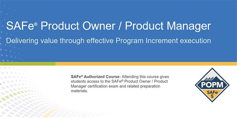 SAFe® Product Owner/Product Manager Certification Training in Vancouver, CA