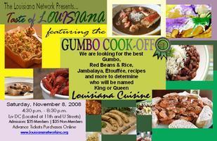 Taste of Louisiana & GUMBO Cook-off
