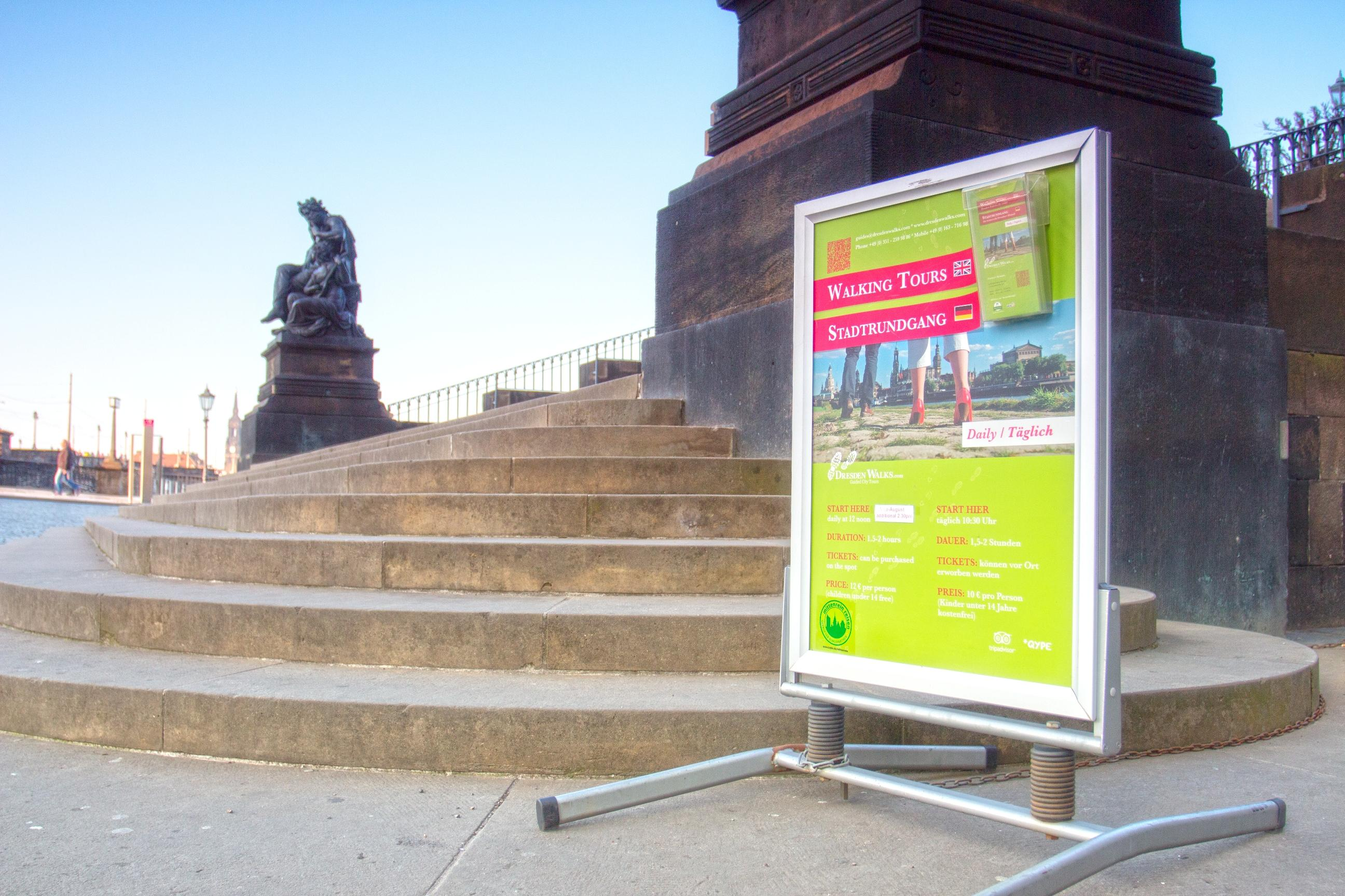 Juni 2020: Dresden Stadtrundgang mit DresdenWalks