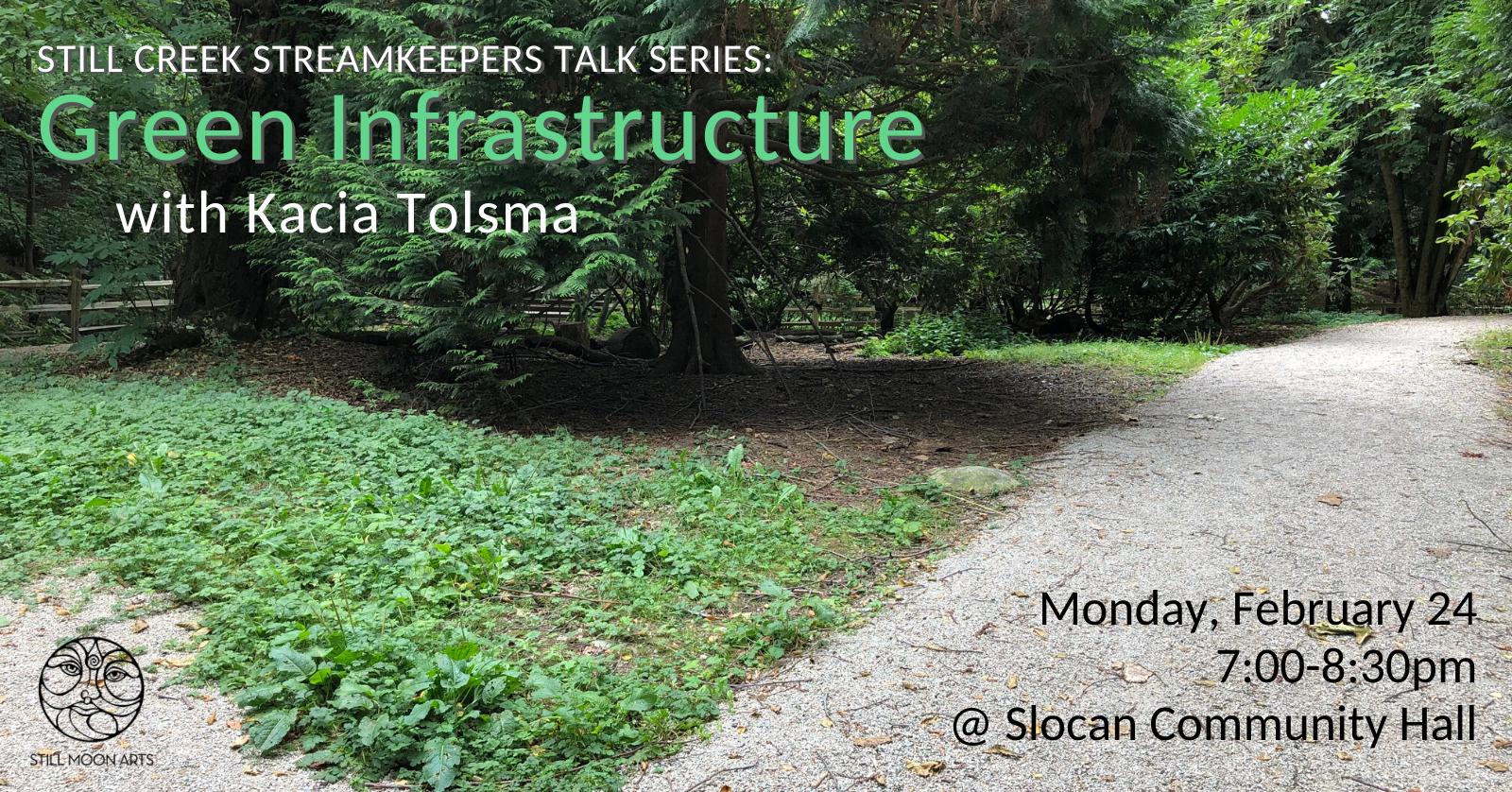 Green Infrastructure Talk with Kacia Tolsma