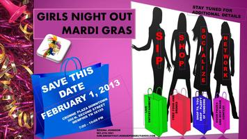 EARLY REGISTRATION - GIRLS NIGHT OUT MARDI GRAS-FEB 1, 2013