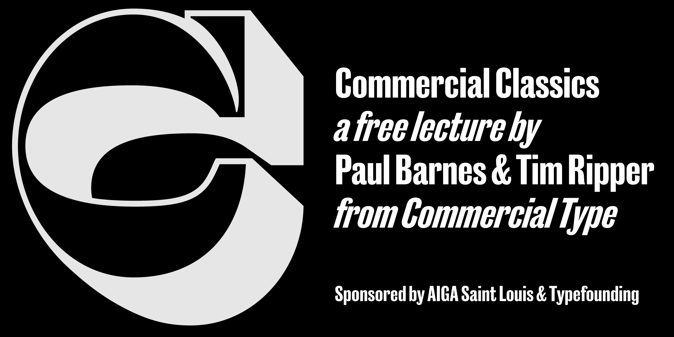 Commerical Classics: Paul Barnes & Tim Ripper on building a new foundry
