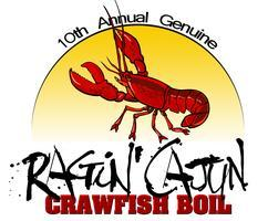 10th Annual Ragin' Cajun Crawfish Boil
