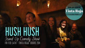 Hush Hush Comedy: Valentine's Special!
