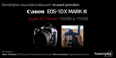 PRÉSENTATION CANON EOS 1D X MKIII #COMING #SOON
