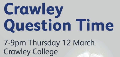 Crawley Question Time 2020