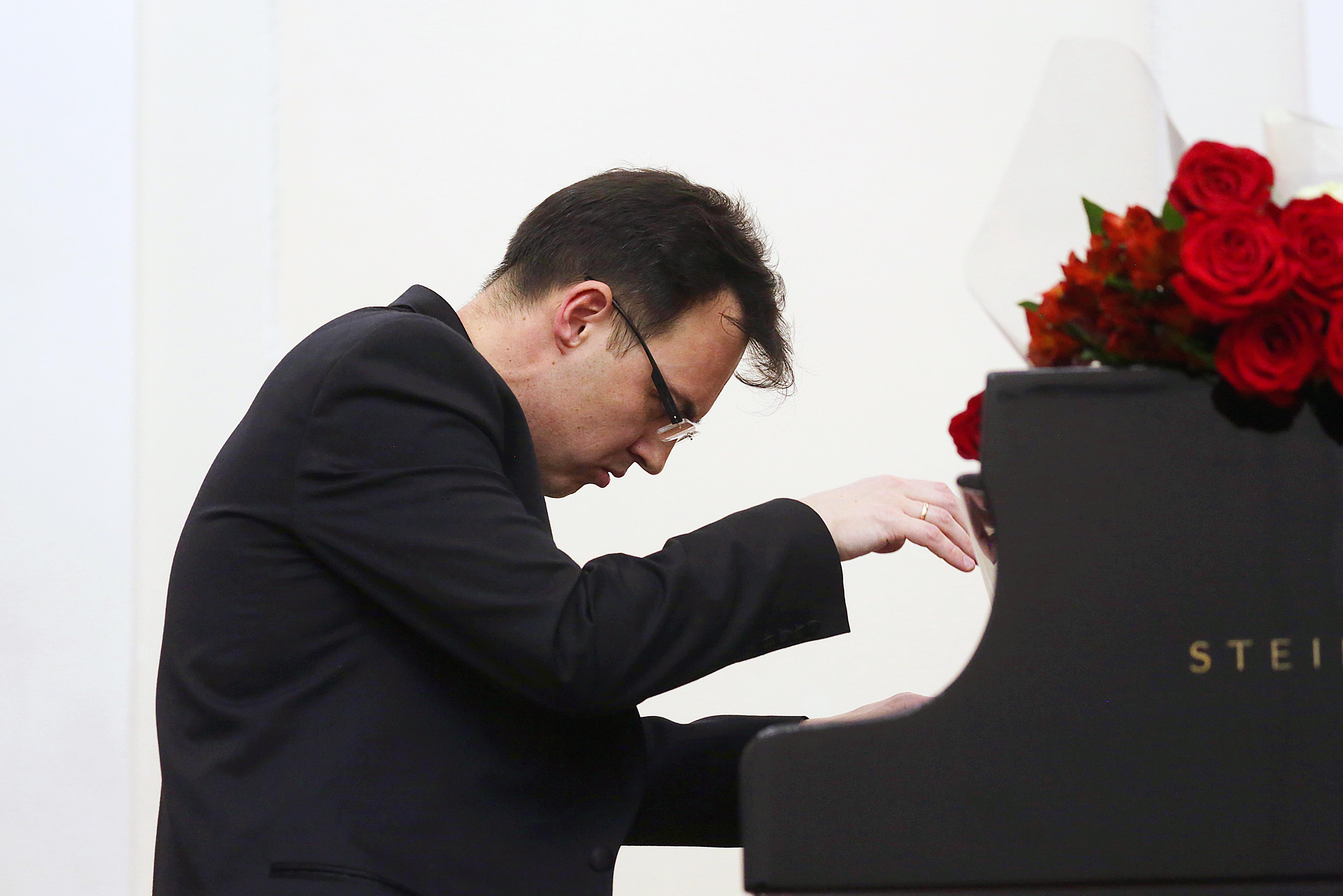 Rustam Shaykhutdinov en Madrid.