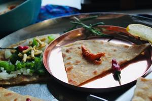 Paratha, the healthy  whole wheat bread