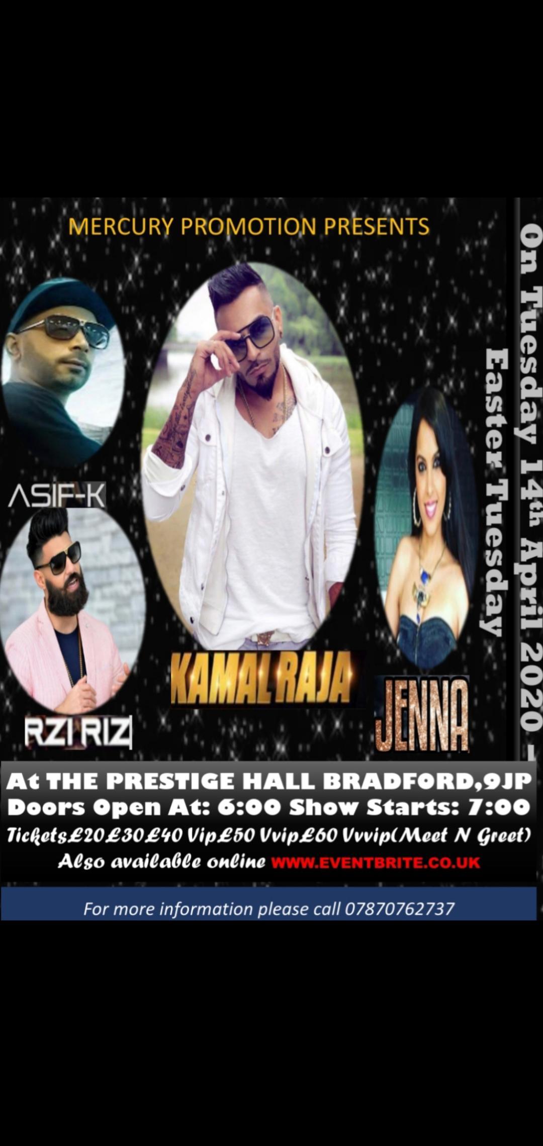 Kamal Raja LIVE In Bradford 2020