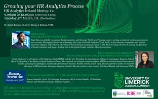 HR Ireland Meetup #2: Growing your HR Analytics...