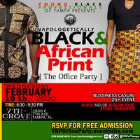 YBP'S Office Party: BLACK & AFRICAN PRINT EDITION