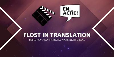 Studentsymposium FLOSt in Translation - beeldtaal van...