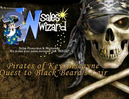"Pirates of the Carribean Quest to "" Black Beard's Lair"""