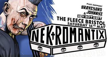 Nekromantix plus Graveyard Johnnys + Red Hot Riot