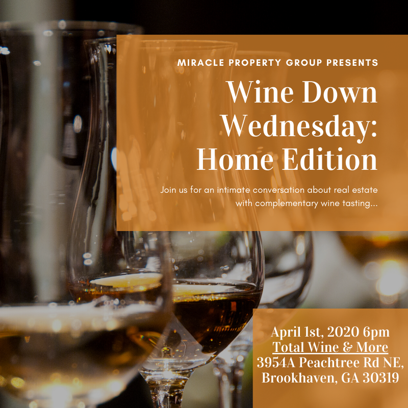 Wine Down Wednesday: Home Edition
