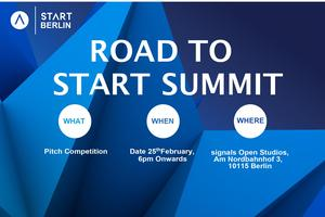 Road To START Summit 2020- Pitch Competition