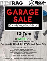 Dirt Rag/Bicycle Times Garage Sale
