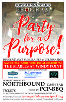 """Potsdam Snack Pack Program """"Party for a Purpose""""..."""