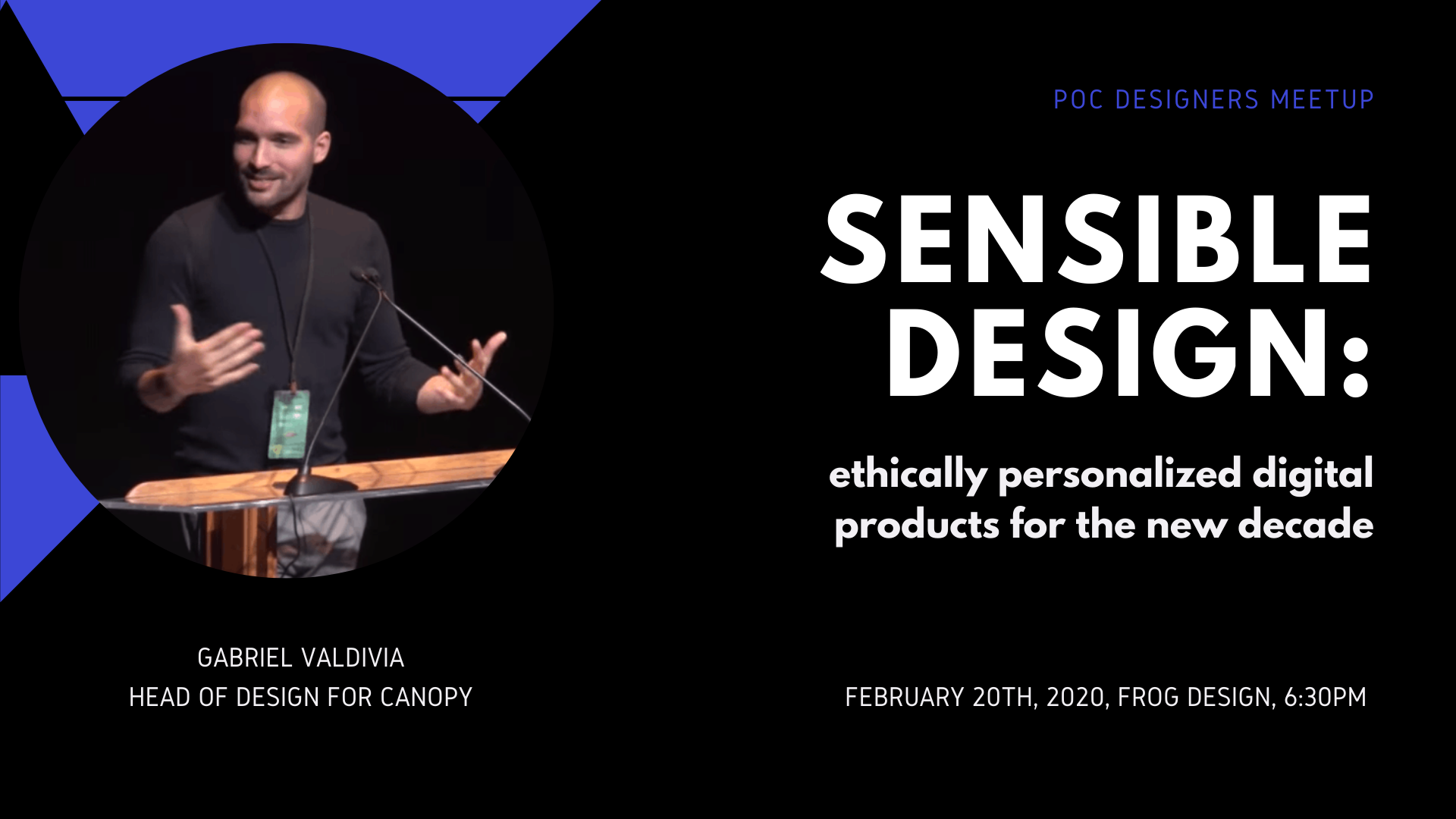 Sensible Design: ethically personalized digital products for the new decade