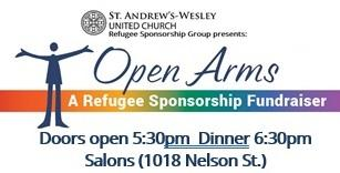 Open Arms: A Refugee Sponsorship Fundraiser