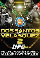 UFC 155 Dos Santos vs Velasquez II