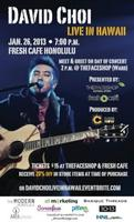 DAVID CHOI LIVE IN HAWAII