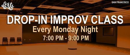 Leela's Monday Night Drop-In Improv Class
