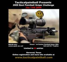 Tacticalpaintball's 2009 Best Paintball Sniper...