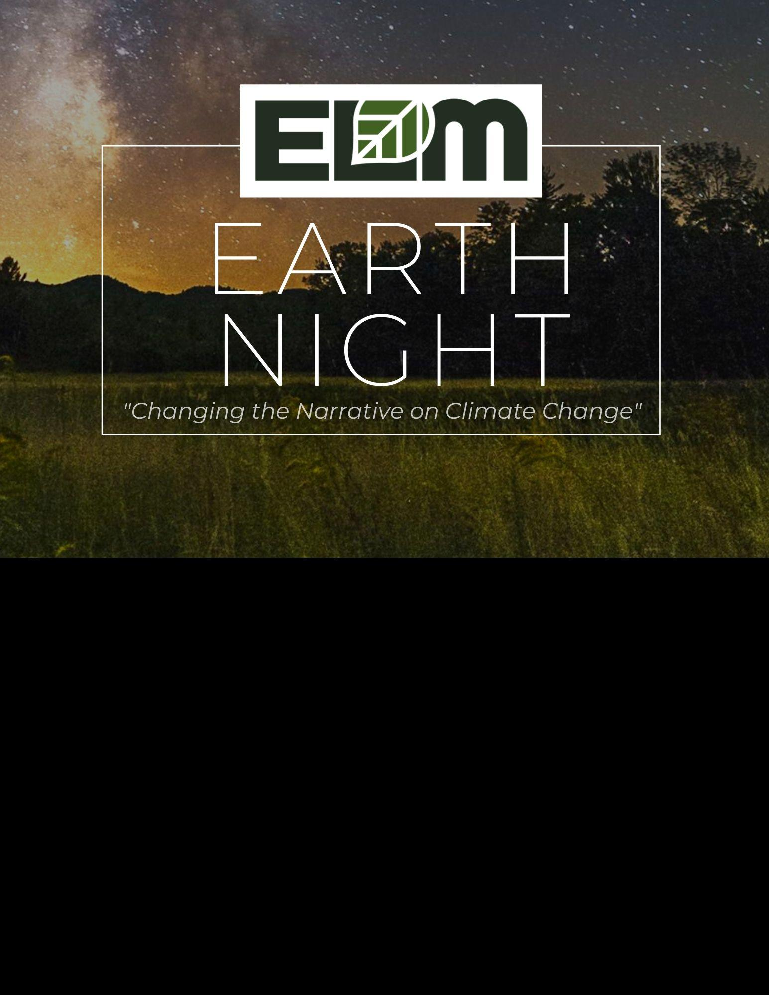 Earth Night 2020- POSTPONED TO FALL 2020