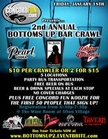 2nd Annual Bottoms Up Bar Crawl