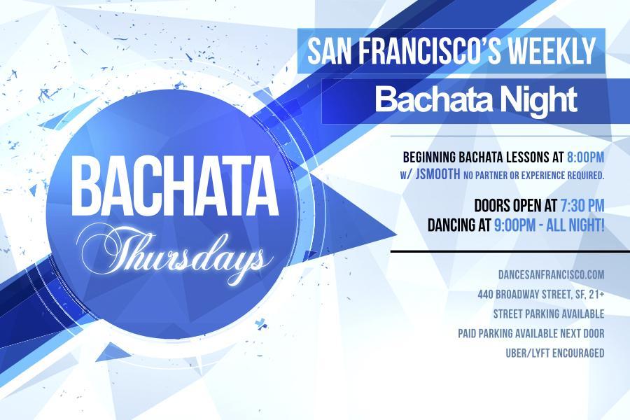 Bachata Thursdays - Dance Lessons & Bachata y Salsa Party, Every Thursday