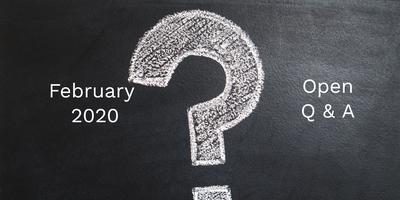 Apple Users Group February 2020 - Open Q & A