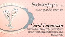 Carol Lovenstein, Independent Stampin' Up!® Demonstrator logo