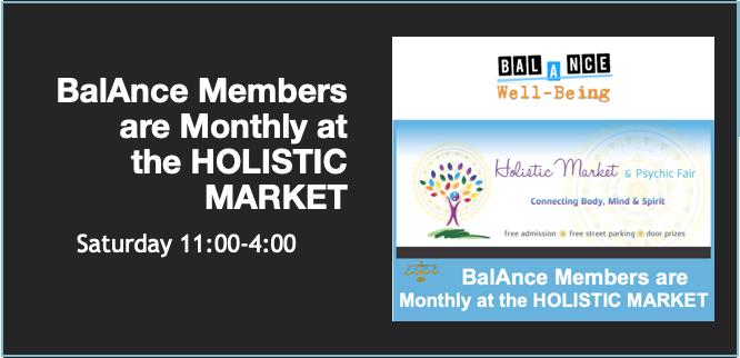 BalAnce Members LIVE ON-LINE (Holistic Market)