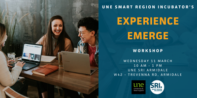 Experience EMERGE Workshop – Armidale