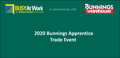 2020 Apprentice Trade Event -  Newstead Bunnings...