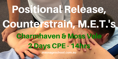 Treat with Positional Release, Counterstrain &...