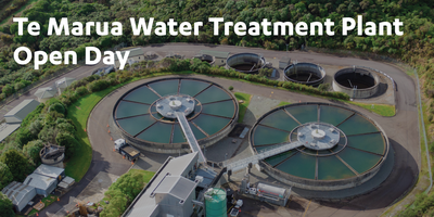 Te Marua Water Treatment Plant Open Day