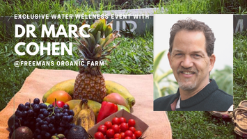 Exclusive Water Wellness Event with Dr Marc Cohen