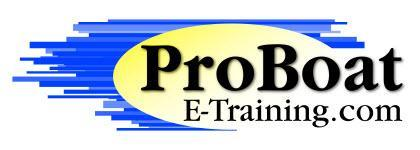ProBoat E-Training ONLINE Open House