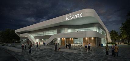 Visite-Réseau centrale solaire de l'Ice Parc à Angers